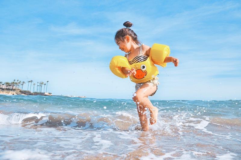 Bali, Indonesia | Beach Baby Girl