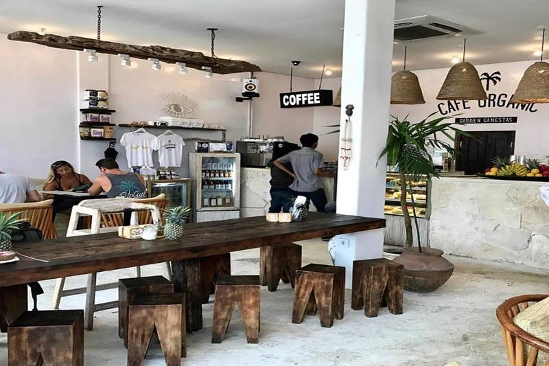 Seminyak, Balin | Cafe Organic Gangstas
