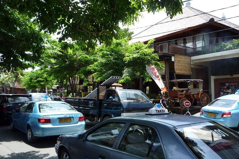 Seminyak, Bali, Indonesia | Taxis Roads Traffic