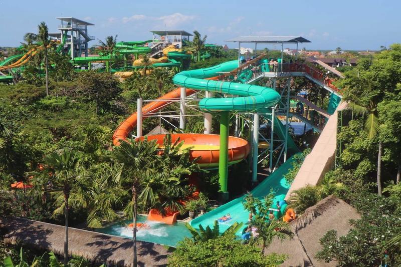 Kuta, Bali | Waterbom Water Park