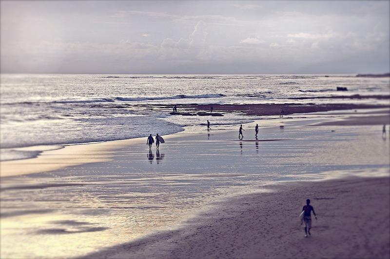 Canggu, Bali | Echo Beach Surfers
