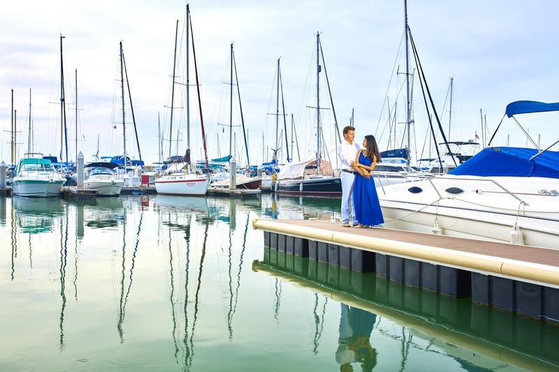 Sailing boat marriage proposal | bali, indonesia