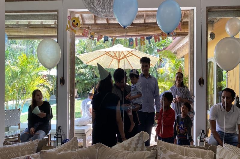 Birthday Party Mov Team Villa Seminyak Bali