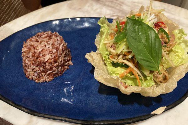 Duck Salad Batik Restaurant Seminyak Bali