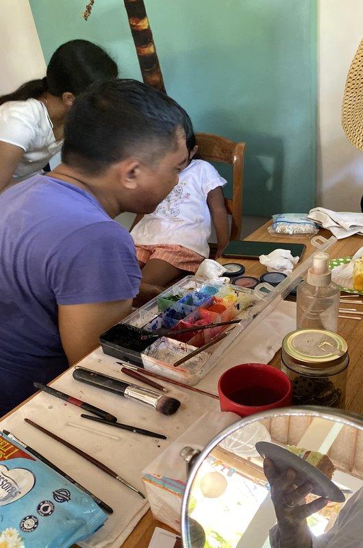 Face Painting Birthday Seminyak Bali