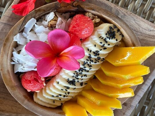 Fruit Bowl Restaurant Nusa Lembongan Bali
