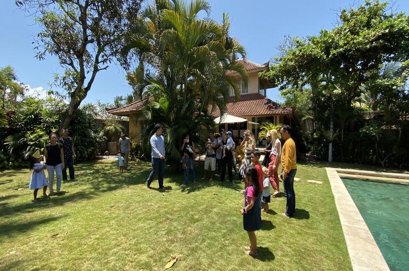 Garden Games Birthday Party Villa Seminyak Bali
