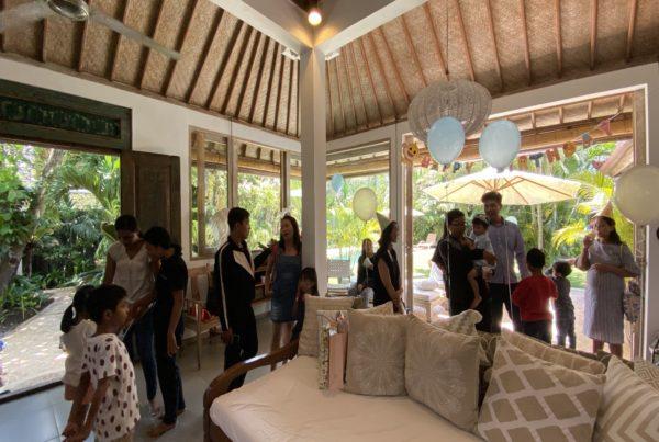 Kid's Birthday Party Seminyak Villa Bali