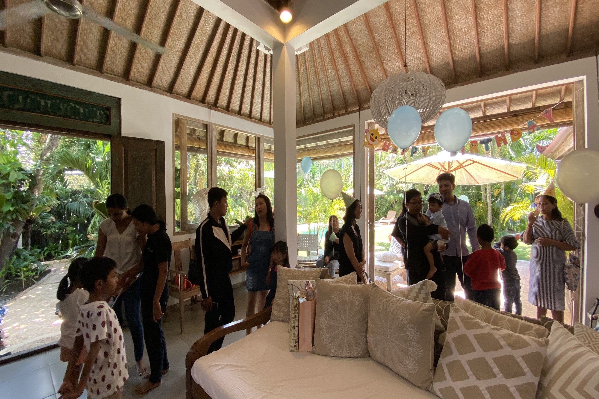 Kid's Birthday Party in Seminyak Villa: Our Experience