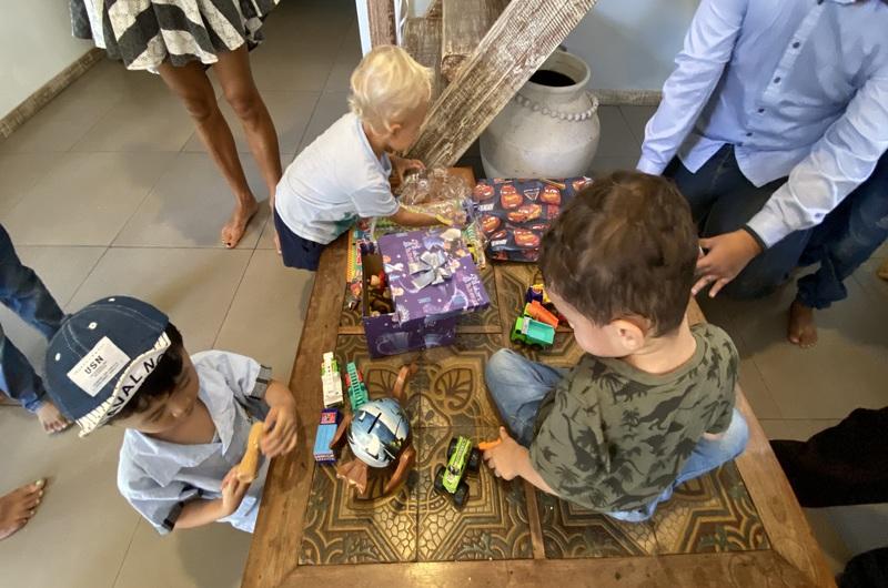 Kids Playing Birthday Party Seminyak Bali