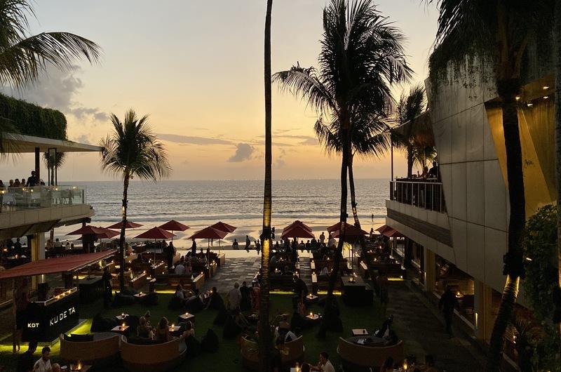 Kudeta Sunset Seminyak Bali