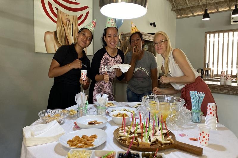 Mov Team Sara Birthday Party Villa Seminyak Bali