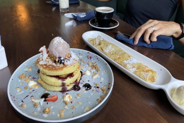 Pancakes Coffee Junction Cafe Seminyak Bali