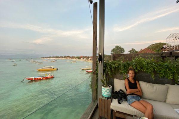 Restaurant Boats Ocean Nusa Lembongan Bali