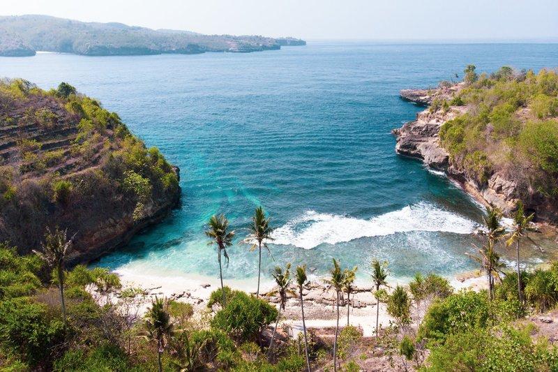 Sercet Beach Nusa Ceningan Bali