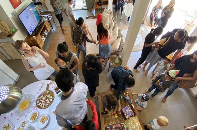 Snacks Birthday Party Villa Seminyak Bali