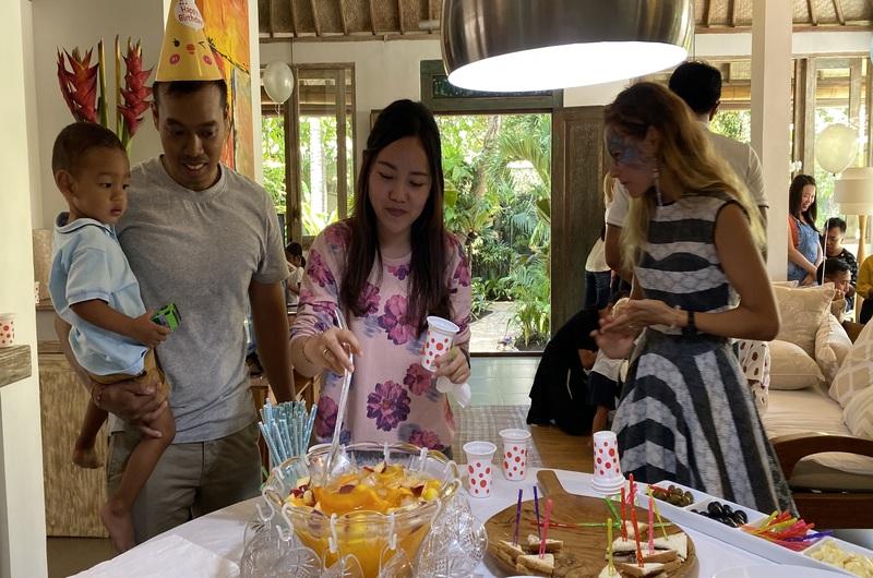 Tropical Punch Birthday Party Villa Seminyak Bali